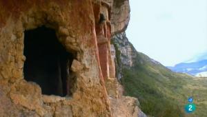 """Captura de Pantalla de una escena del documental """"La Joya y los Guerreros de la NIebla"""""""