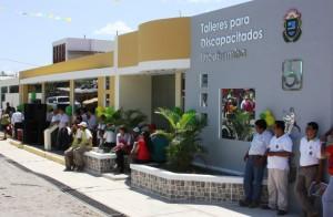 Inauguración de infraestructura para discapacitados en Utcubamba