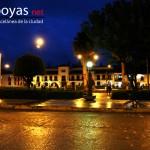 La Plaza luego de la lluvia