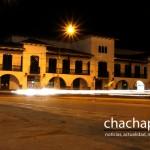 El Palacio Municipal, de noche