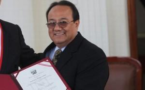Vicepresidente Regional de Amazonas Dr. Augusto Wong Lopez.