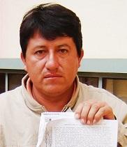 Neyser Arista, fenecido Alcalde de Cochamal