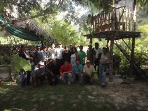 Los integrantes de la cooperativa en foto del recuerdo