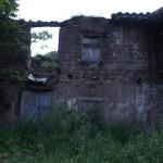 Vista de la entrada principal de la Casa de Pantoja