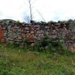 Parte del muro de una vivienda