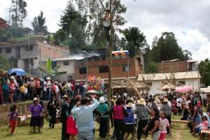 Alegrìa popular que desborda, es señal que se viene el Raymillacta de los Chachapoya