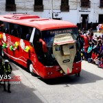 El bus de Marca Perú, presente en el desfile. Ojalá también nos incluya en las promociones internacionales