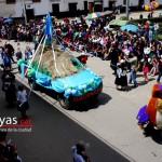 """La conciencia ambiental ha calado profundamente en los pobladores de los pajonales de Levanto, se presentaron con su mascota """"Cucho Colibrí"""" paladín de la protección de Tilacancha fuente de agua de Chachapoyas"""