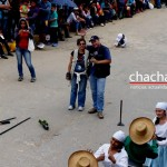 Nuestros amigos de TVTeleamazonas, cubriendo también el evento