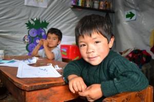 Los beneficiados son los niños de las zonas rurales de Chachapoyas