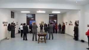 Inauguración de la exposición fotográfica.