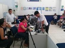 Personal de la Agencia Utcubamba durante capacitación previa
