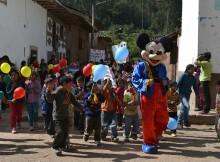 Pasacalle en Chuquibamba.