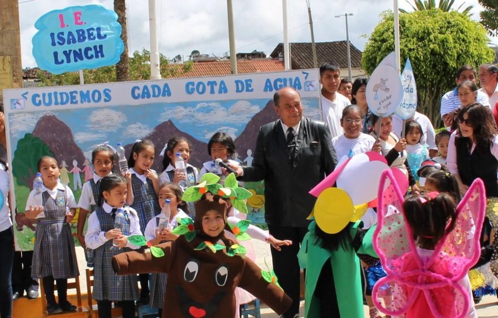 CONCURSO DE INSTITUCIONES EDUCATIVAS DE EDUCACIÓN INICIAL POR EL DIA MUNDIAL DEL AGUA
