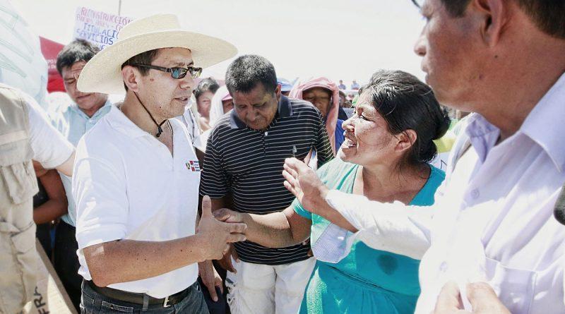 Ministro de Vivienda evaluará servicios de agua y saneamiento en Amazonas y San Martín