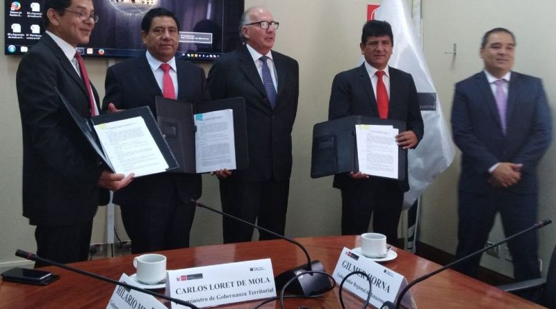 Amazonas y Cajamarca definen límites