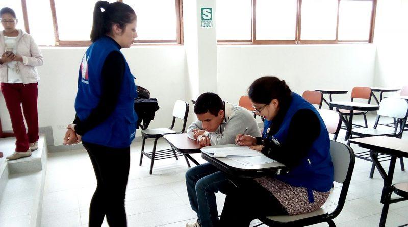 Postulante con Discapacidad ingresó a la UNTRM