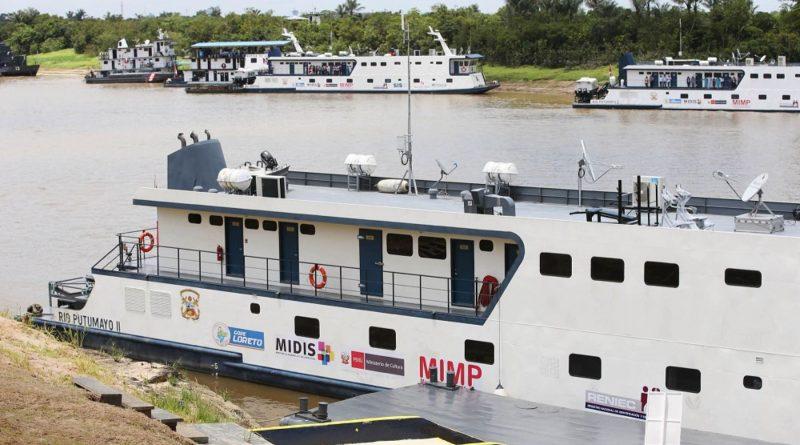 Amazonas contará con embarcación PIAS en Condorcanqui