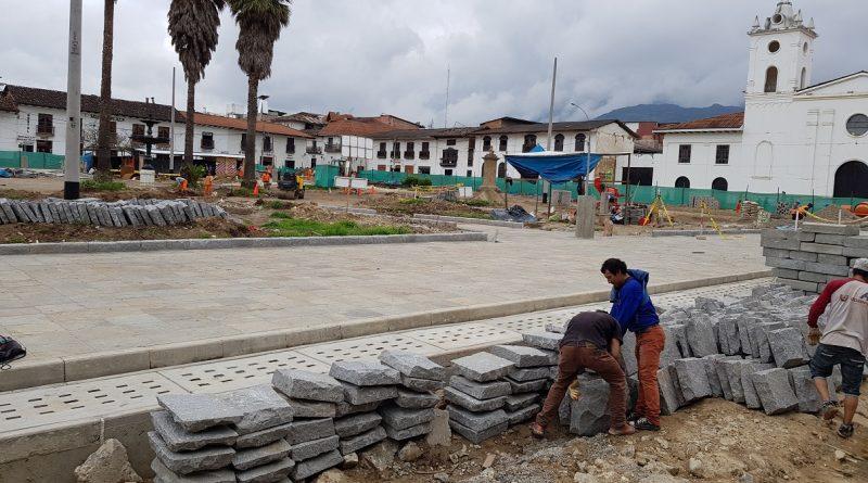 Mejoras en la gestion de las obras de la Plaza de Armas