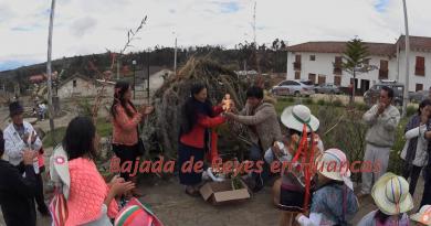 Bajada de Reyes en Huancas (video)